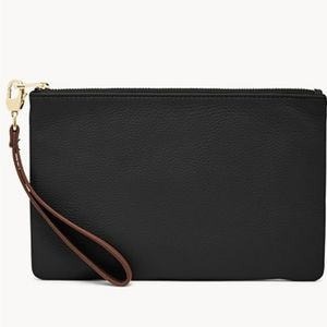 Fossil RFID Leather Wristlet
